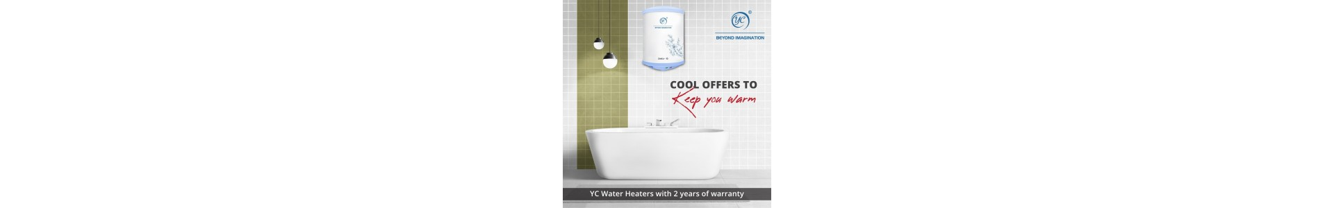 YC Water Heater Beyond Imagination | 7 Year Replacement Warranty  | Low Price